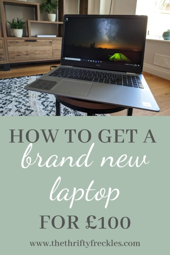 how to get a brand new laptop pinterest pin