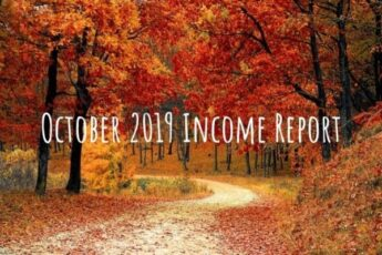 October 2019 Income Report