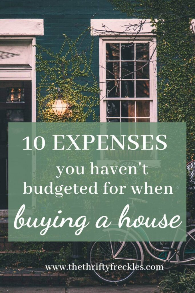 10 key expenses you haven't budgeted for when buying your new home